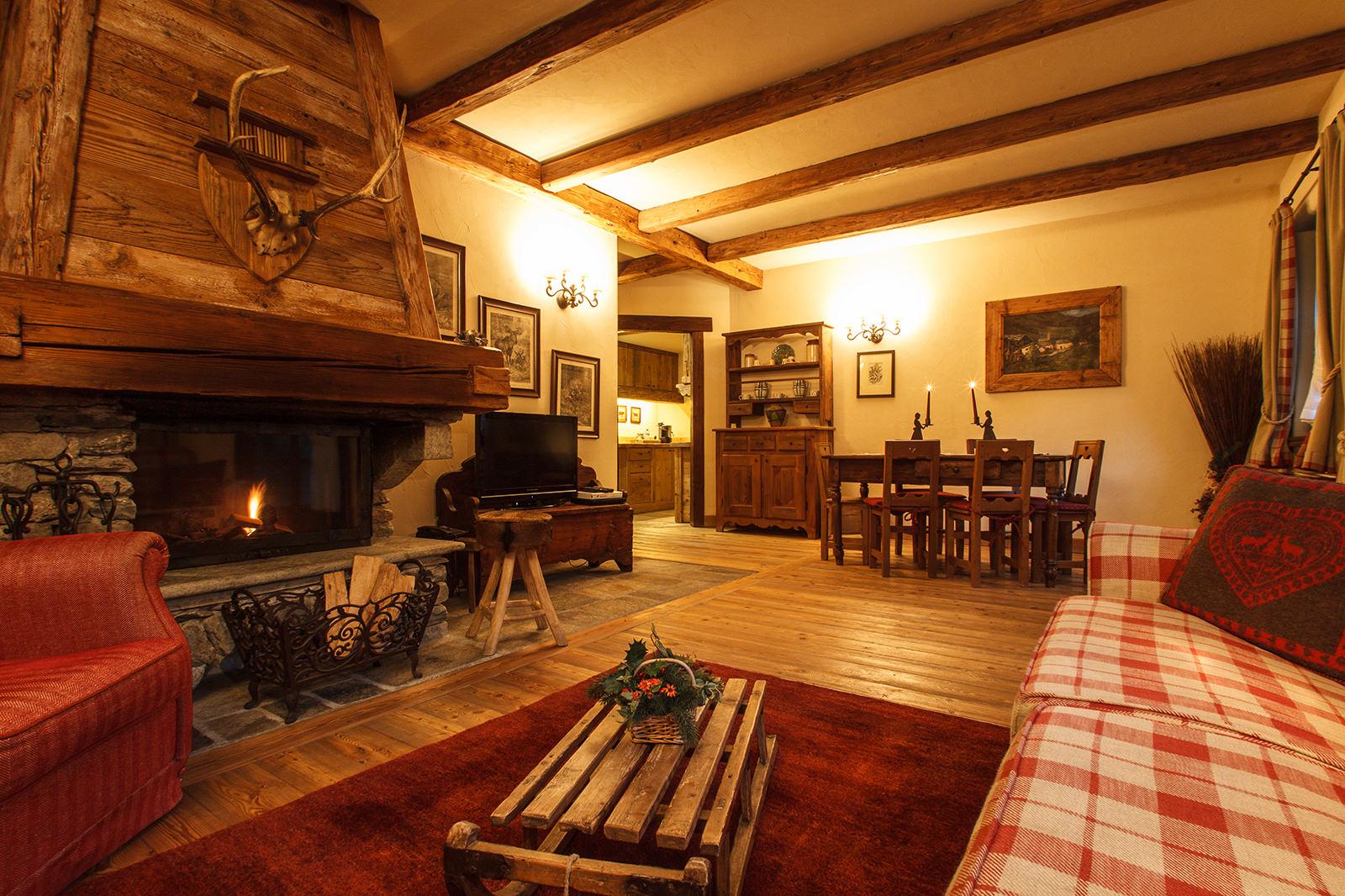 Foyer Au Grand Lancy : Grand foyer au coeur des neiges